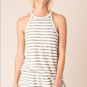 NWT OTHERS FOLLOW CUTE STRIPED TANK TOP